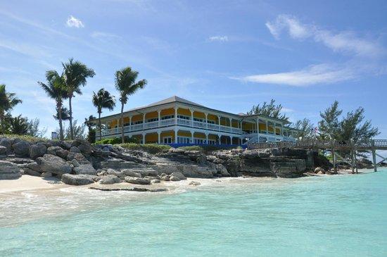 Club Med Columbus Isle: Ecole de plongée/ beacon bar