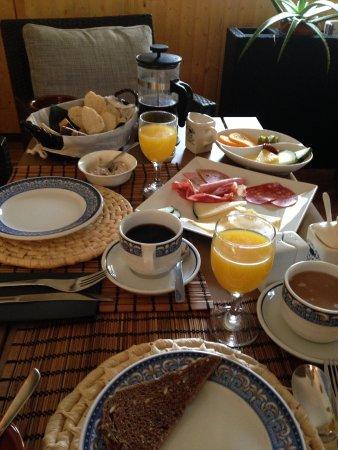 Parc de Canet: Breakfast