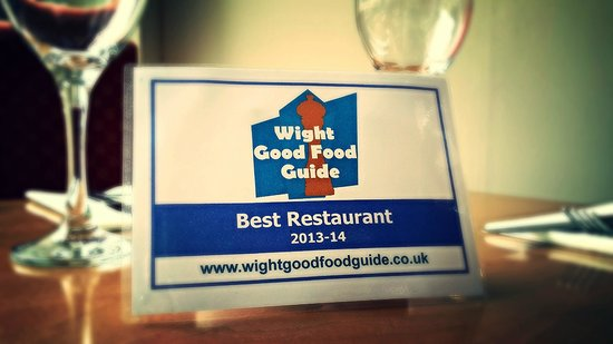 Mojac's Restaurant and Bar: Wight Good Food Guide Best Restaurant 2014 - they just keep coming!!