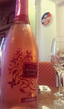 Mojac's Restaurant and Bar: Rose Prosecco - absolutely gorgeous