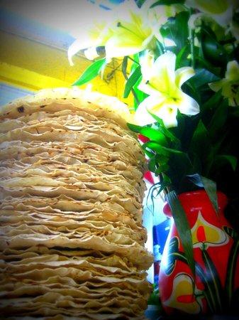 Benito Juarez Market (Mercado de Benito Juarez): Fresh flowers and fresh tlayuda tortillas