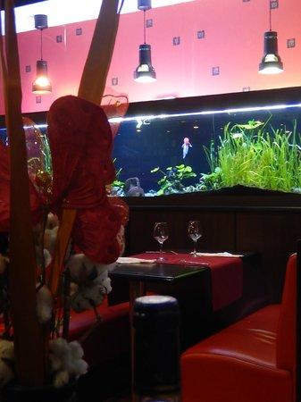 Restaurant La Baie d' Halong : Intérieur du restau