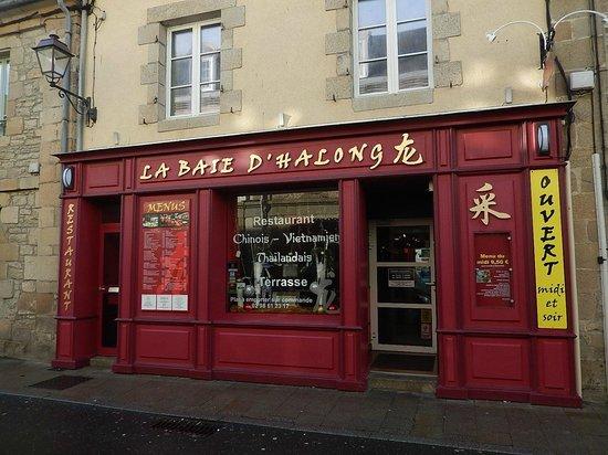 Restaurant La Baie d' Halong : Devanture du restau