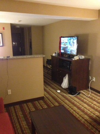 Best Western Wilsonville Inn & Suites: The other side of the room.