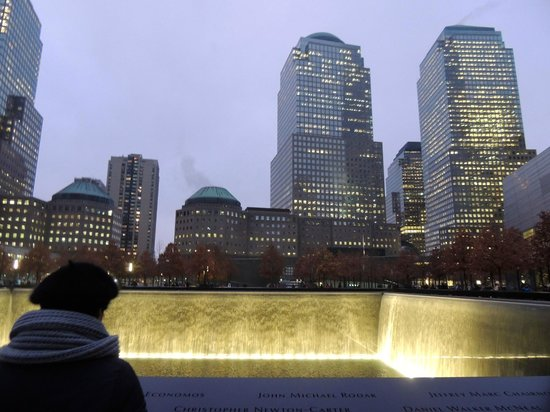 Mémorial du 11-Septembre : Edificios alrededor