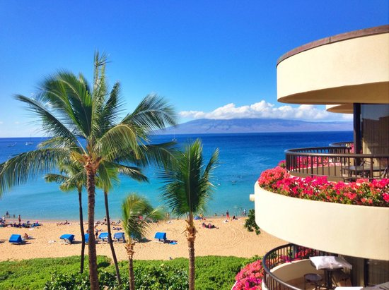 Sheraton Maui Resort & Spa : View from room on 6th floor biulding 4