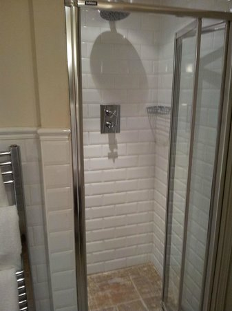 The White Swan Inn : Great shower