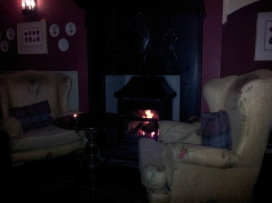 The White Swan Inn : Comfortable liounge for a drink (or dogggie-dining)