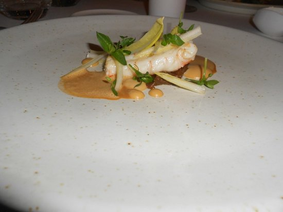 Den Vleestoog: Chicory, lobster and miso