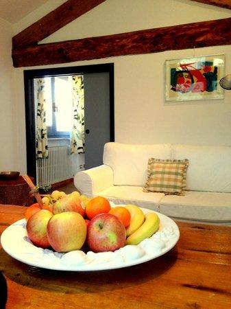 Suite Vigentina : cesto di frutta di benvenuto