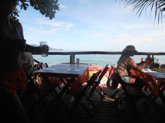 Trindade, RJ: Vista do Restaurante Vagalume do Meio