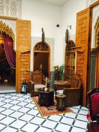 Riad Dar El Kebira: Patio