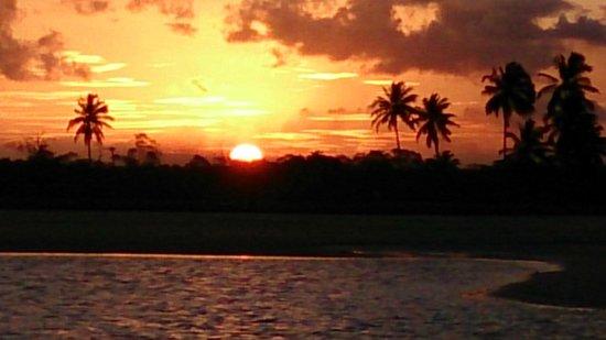 Pontal De Maracaipe: Pôr do sol em Maracaípe