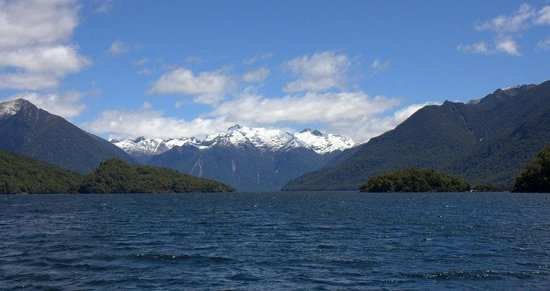 Cruise Te Anau: General view from Te Anau Lake