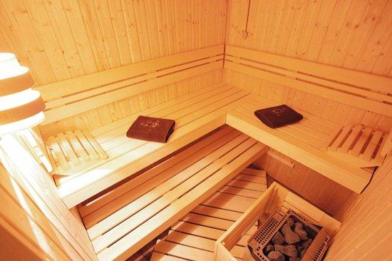 Le Chalet du Lys : Sauna