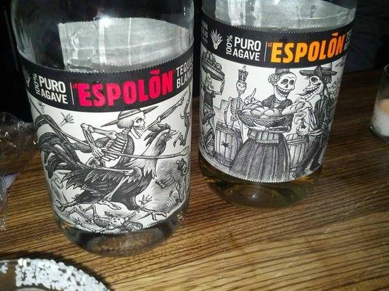 Bodega Taco Bar: Espolon Tequila