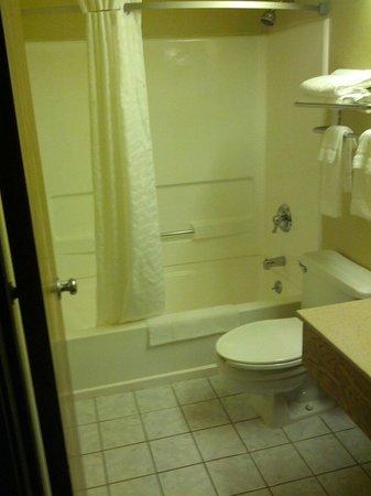 Super 8 Weston WV : Bathroom