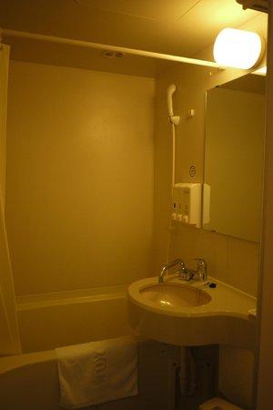 Toyoko Inn Kyoto Gojo Karasuma: Bathroom