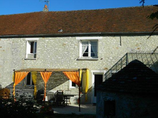 Le Relais De Libreval: La terrasse