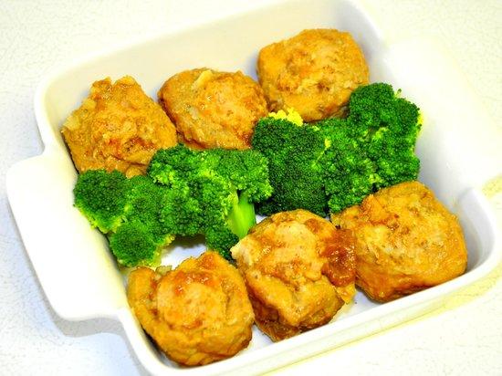 Sunmei Taiwanese Cuisine: Golden Tofu with Pork Stuffed
