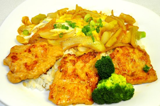 Sunmei Taiwanese Cuisine: Onion Pork Chops Rice