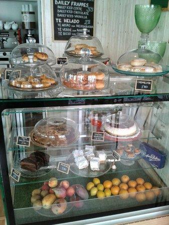 Café del Valle: vitrina
