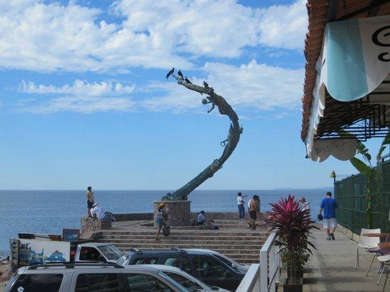 El Cafecito: Outside the cafe door