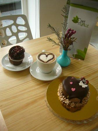 Café del Valle: café enamorado