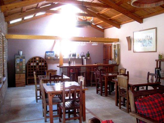Lujan de Cuyo B&B: Sala de bienestar/ comedor/ bar
