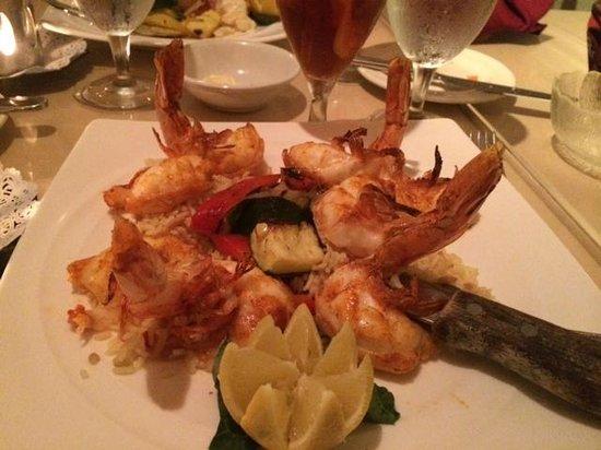Cafe de Marco: Jumbo prawns
