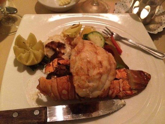 Cafe de Marco : Stuffed lobster tail