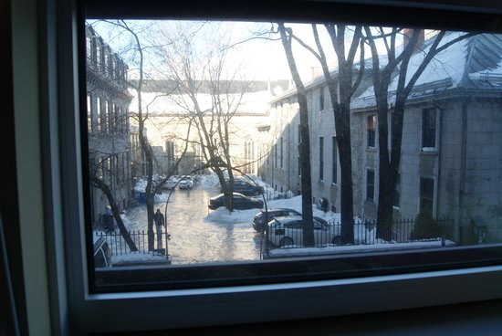 Le Champlain Hotel : View from the Room