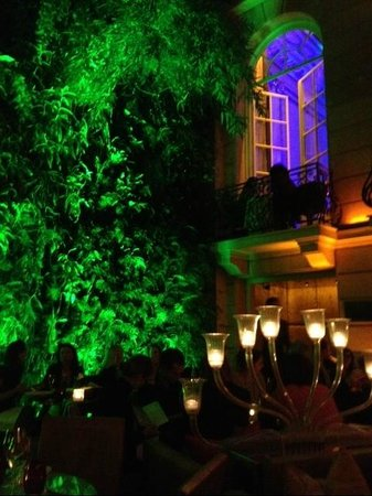 Pershing Hall : Vertical garden
