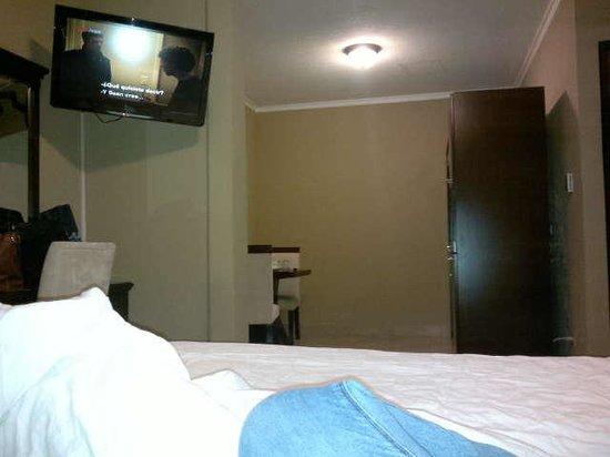 Panama Studio Apartments: Desde la cama