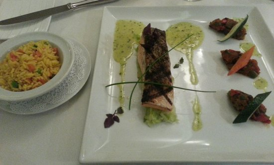 Bistrot Caraibes : Salmon to die for!