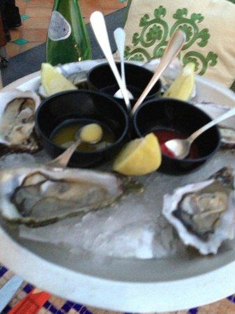 Le Sirenuse Hotel: Oyster bar