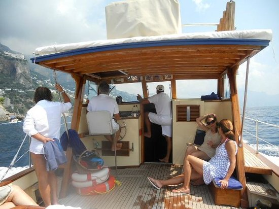 Le Sirenuse Hotel: Hotel Private Boat ride around island with a dip in the ocean