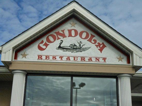 Gondola Restaurant: Sign