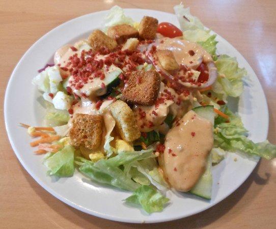 Gondola Restaurant: Salad