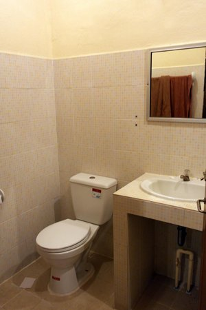 Market Motel: toilet and sink