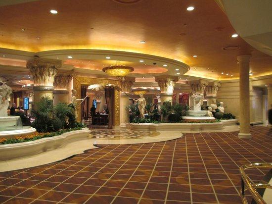 Caesars Palace: big spenders