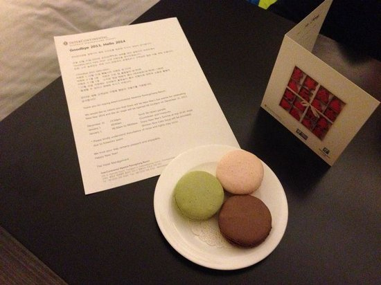 InterContinental Alpensia Pyeongchang Resort: We were given this little gift on New Year Eve