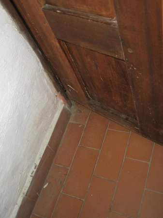 Hotel Terrazas de la Candelaria: Al cerrar la puerta del baño