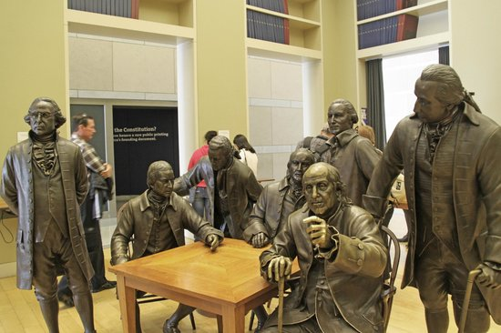 National Constitution Center: Signers Hall