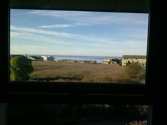 The Morgan at San Simeon: The view from our window