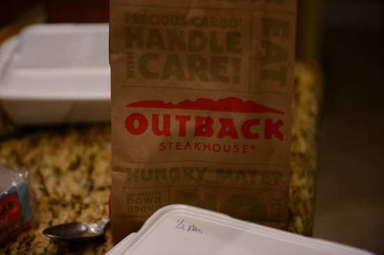 Outback Steakhouse: Don't order too much