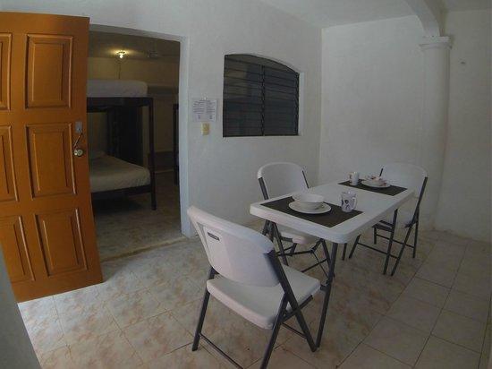 Villas Sol y Mar : Dining Room for Dorm guests