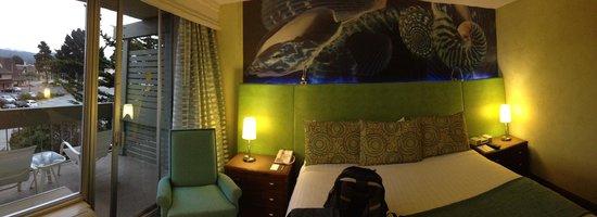 Carmel Mission Inn : Our room