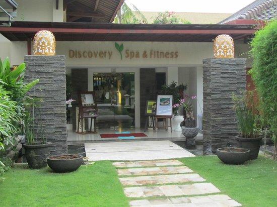 Discovery Kartika Plaza Hotel: Spa entrance