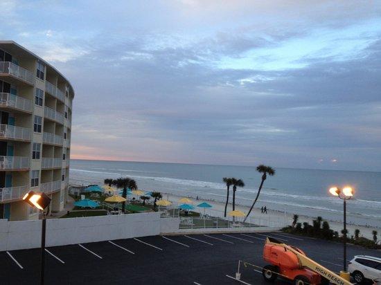Best Western Aku Tiki Inn : View from room 315